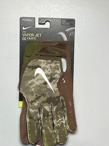 Nike Vapor Jets Camo, Size XXL, San Francisco 49ers Team Issued Football Gloves