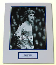 Stan Bowles Queens Park Rangers QPR HAND SIGNED Autograph Photo Mount COA