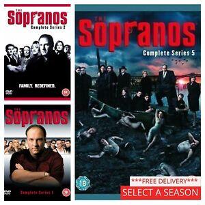 The Sopranos Series 1 2 3 4 5 6 DVD - Pick a Complete Season Box Set Collection