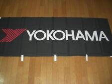 YOKOHAMA Nobori Black Official New Flag Rare from Japan