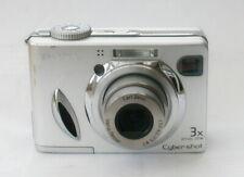 Sony Cybershot DSC-W7 7.2 MP Digital Camera - Silver