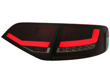 LIGHTBAR LED RÜCKLEUCHTEN AUDI A4 B8 8K LIMOUSINE /ROT-SCHWARZ-SMOKE-GLAS.HALO
