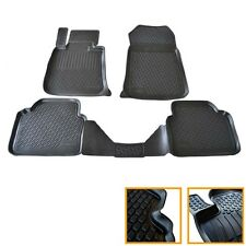 4 TAPIS CAOUTCHOUC BMW SERIE 5 E60 E61 520 523 525 530 535 SOL 3D TPE SUR MESURE