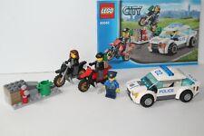 Lego 60042 Polizei High Speed Police Chase vollständig mit Figuren und Anleitung