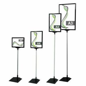 A5 A4 A3 Poster print Holder Sign Stand outdoor indoor Signage Retail Display