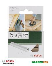 savers Bosch Type53 FINE 4mm WIRE STAPLES (Packof1000) 2609255857 3165140393089