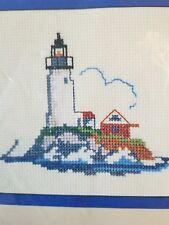 Counted Cross Stitch Kit Lighthouse Nautical Ocean Sea NEW Coast Coastal Sailor