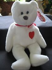 Very Rare Valentino TY Beanie Baby Babies  With  Tag Misspellings PVC  NEW