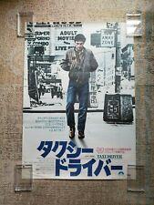 Taxi Driver 1976 - B2 Movie Poster Robert De Niro / Martin Scorsese