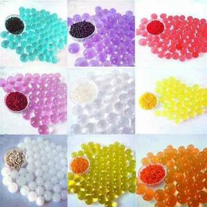 Metallic Glitter Plain Glow Giant & Square Orbeez Water Beads Home Vase Weddings