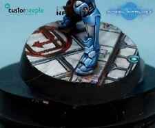 Customeeple Infinity Jeanne d'Arc base top by Giraldez 25 mm 1 Topper Overlay
