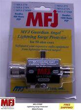 MFJ 272MF Guardian Angel Lightning Surge Protector, 1500 Watts, SO-239 to PL-259