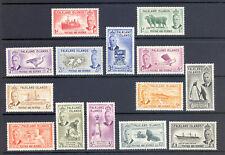 FALKLAND ISLANDS SG 172-85 1952 GVI DEFINITIVE SET  MNH