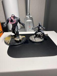 Marvel: Crisis Protocol - Venom and Spiderman Painted