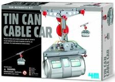 4M Tin Can Cable Car Kids Science Kit Present MPN 403358