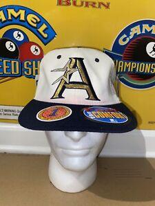 NWT VTG 90s Houston Astros Golden A Starter Fitted Hat Cap S/M Verlander Altuve
