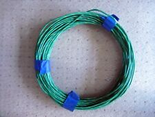 Approx 69'  14  AWG, PTFE,  M16878   Green/yellow Stripe