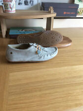 frank wright, light grey suede shoes, UK size 6