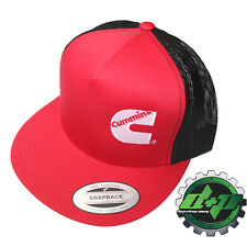 07555261e0b41 Dodge Cummins trucker mesh summer cummings hat ball cap flat bill snap back  gear