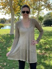 Pete and Greta by Johnny Was Oversized Linen Tunic Dress PG1224 New Boho