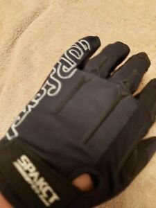 SpakctSGTOP4 Cycling Gloves (Full Finger), Black, SizeLarge - Brand New