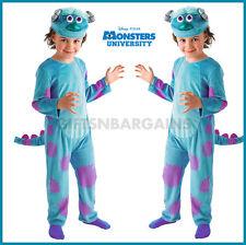 Sulley Boys Costume Monsters Inc Disney Child Halloween Toddler 3-4y Alien Boy
