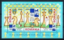 261911) Rumänien Block 324** Schach Olympiade