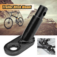 Bicycle Trailer Spare Hitch Mount Replacement attachment Bike Accessory Black