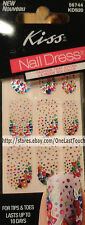 KISS* 28 Nail Dress PEIGNOIR Art Strips/Appliques/Decals Colored JEWEL CLUSTERS