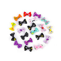 20Pcs Girl Candy Color Kids Fashion Bow Alligator Clip Children Hair Accessories
