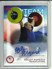 Holley Mangold 2016 Topps Olympics Autograph