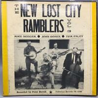 Vintage The New Lost City Ramblers Vol 3 Album Vinyl Record LP