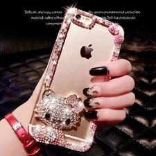Diamante Crystal Funda Carcasa Protector Cover Huawei Mate P 20 Honor 6 8X 9 10