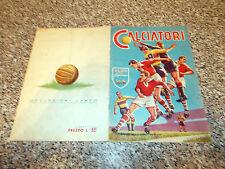 ALBUM figurine CALCIATORI 1958 1959 LAMPO COMPLETO ORIGINALE OTTIMO TIPO PANINI