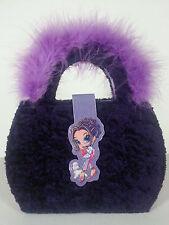 Lisa Frank Diva Diary Purse Binder Purple Notepad Mirror Glamour Girl Poodles