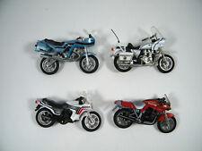 (4) VINTAGE  ~ ZEE TOYS MOTORCYCLES KAWASKI POLICE, SUZUKI, HONDA TURBO, AND CBX