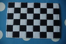 Zielflagge Ziel Aufnäher Aufbügler Patch  Flagge Fahne