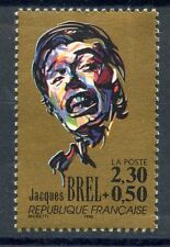 STAMP / TIMBRE FRANCE NEUF N° 2653 ** CELEBRITE / JACQUES BREL