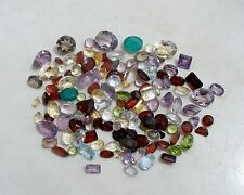 Over 100 Carats of Natural Gem Mix Loose Faceted  Parcel Lot