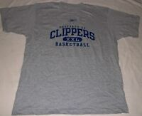 Los Angeles Clippers T-shirt Large NBA Collection Reebok Cool Logo