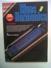 BLUES HARMONICA for beginners W. Lee Johns