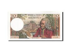 Billets, France, 10 Francs, 10 F 1963-1973 ''Voltaire'', 1965 #209869