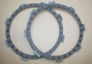 FS1E /DT50/DT80/TY80 NEW CLUTCH FRICTION PLATE SET OF TWO -- D901