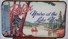 "17.7"" x 30"" Indoor/Outdoor Relax You're at the Lake Now Door Mat #1878"