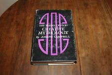 Joseph Campbell 1968 1st Edition MASKS OF GOD CREATIVE MYTHOLOGY HC DJ Mysticism