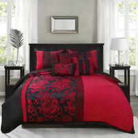 HIG 7 Piece Jacquard Comforter Sets - Exquisite Fashion, Unique and Novel