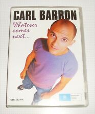 DVD - Carl Barron - Whatever Comes Next...