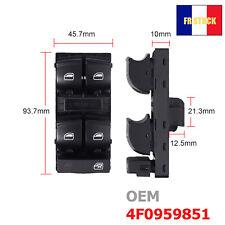 Interrupteur de vitre bouton avant pour AUDI A3 8P A4 A6 C6 Q7 4F0959851