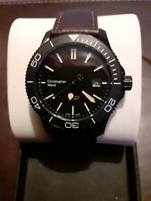 Christopher Ward Trident P600 Automatic Mens' Watch on Leather Strap