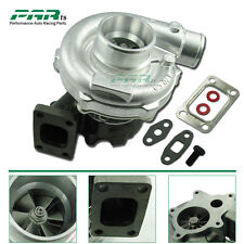 T3 T4 T04E Turbo Turbocharger .57 A/R 1.6L to 2.3L 400HP 5 Bolt Flange Universal